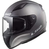 Casco integrale LS2 FF353 RAPID SINGLE MONO Titanio opaco