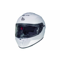 Casco integrale MT Helmets Blade 2 Sv Solid A0 Bianco Lucido