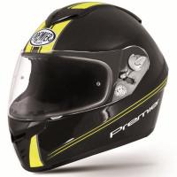 Casco integrale Premier Dragon Evo TY Fluo nero giallo