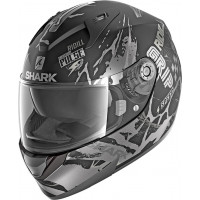 Casco integrale Shark Ridill 1.2 Drift-R Nero Opaco Antricite Argento