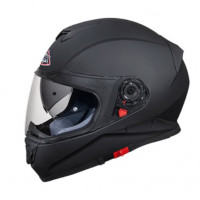 Casco integrale SMK Twister Nero Opaco