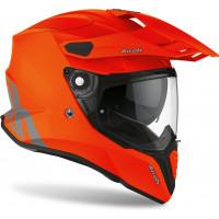 Casco integrale touring Airoh Commander Color in fibra Arancio