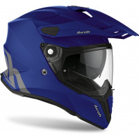 Casco integrale touring Airoh Commander Color in fibra Blu