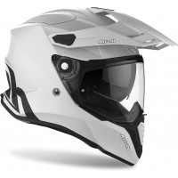 Casco integrale touring Airoh Commander Color in fibra Grigio