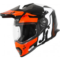 Casco integrale touring Just1 J34 Pro Tour Arancio Nero