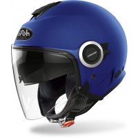 Casco jet Airoh Helios Color Blu