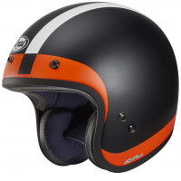Casco jet Arai FREEWAY CLASSIC HALO in fibra Arancio
