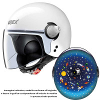 Casco jet bambino Grex G1.1 ARTWORK Space