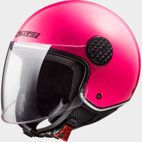 Casco jet LS2 SPHERE LUX Solid Rosa