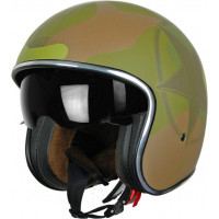 Casco jet Origine Sprint Verde militare Matt