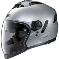 Casco modulare Grex G4.2 PRO KINETIC N-COM Argento Metal