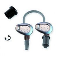 Chiave serratura per valigie E52 V46 B37NT e B47NT Givi Cromata