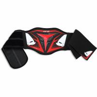 Cintura lombare Ufo Plast Demon motocross enduro rosso