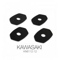 Coppia attacchi frecce anteriori Barracuda KN611212 per Kawasaki