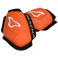 Coppia di slider ginocchia Macna Knee Sliders Arancio Bianco