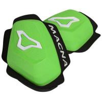 Coppia di slider ginocchia Macna Knee Sliders Verde Bianco
