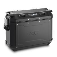 Coppia di valigie laterali Givi Trekker 37 litri in alluminio Nero