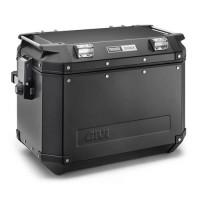 Coppia di valigie laterali Givi Trekker 48 litri in alluminio Nero