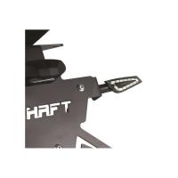 Coppia frecce Led omologate Chaft Shelter Carbon Fumè
