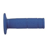 Coppia manopole cross-enduro Domino Azzurro d 24mm