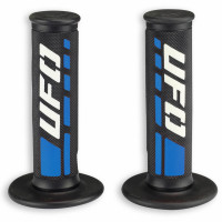 Coppia manopole cross-enduro Ufo Plast Trax Blu