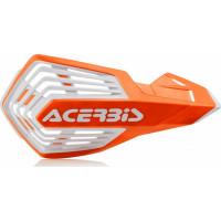 Coppia paramani cross Acerbis X-Future Arancio Bianco