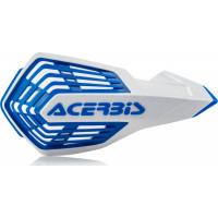 Coppia paramani cross Acerbis X-Future Bianco Blu