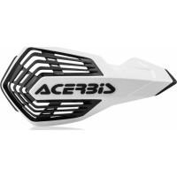 Coppia paramani cross Acerbis X-Future Bianco Nero