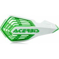 Coppia paramani cross Acerbis X-Future Bianco Verde