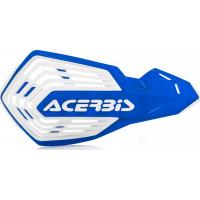 Coppia paramani cross Acerbis X-Future Blu Bianco