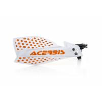 Coppia paramani cross Acerbis X-Ultimate bianco arancio