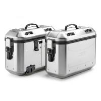 Coppia valigie laterali Givi Trekker Dolomiti alluminio 36 lt
