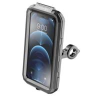 Custodia rigida Cellularline Interphone Armor Pro per smartphone 6.5 pollici per manubri tubolari