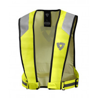 Gilet alta visibilità Rev'it Connector Giallo Neon