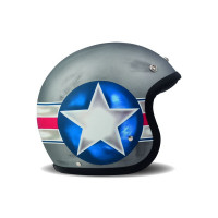 Casco jet fibra DMD Vintage Fighter