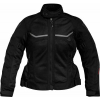 Giacca moto donna Rev'it Tornado Ladies Nero