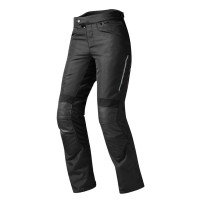Pantaloni moto donna Rev'it Factor 3 Ladies Nero Accorciato