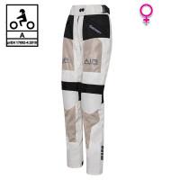 Pantaloni moto donna estivi Befast FREEZE PANT Lady Nero Grigio