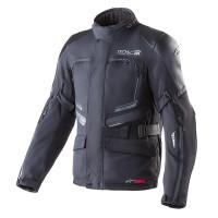 Giacca moto Alpinestars VALPARAISO TECH AIR COMP Nero