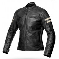Giacca moto donna pelle estiva Spyke MILANO 2.0 LADY Nero