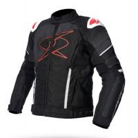 Giacca moto Spyke ESTORIL GT DRY TECNO Nero Rosso