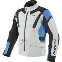 Giacca moto touring Dainese TONALE D-DRY Blu Blu Nero