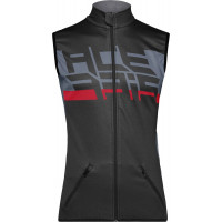 Gilet antivento Acerbis X-WIND in SOFTSHELL Nero Grigio