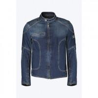 Giacca moto jeans Pmj - Promo Jeans Miami