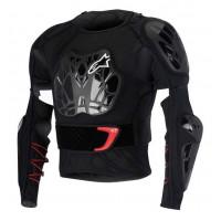 Giubbotto protettivo Alpinestars Bionic Tech nero bianco rosso