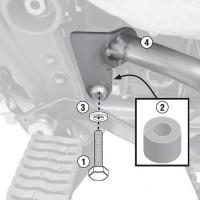 GIVI TN6401AKIT Kit montaggio paramotore TN6401A