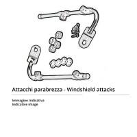 Givi D5129KIT kit attacchi parabrezza D5127S D5127ST AF5127 per BMW