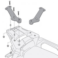 Givi SR1156 attacco posteriore Monokey e monolock specifico Honda