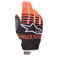 Guanti cross Alpinestars RADAR Antracite Arancio fluo