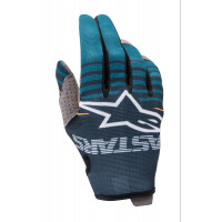 Guanti cross Alpinestars RADAR Blu petrolio Blu navy